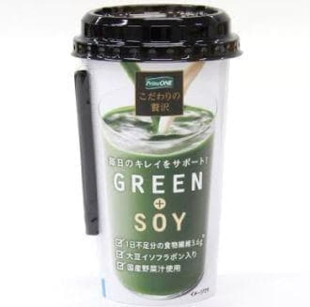 「GREEN+SOY」