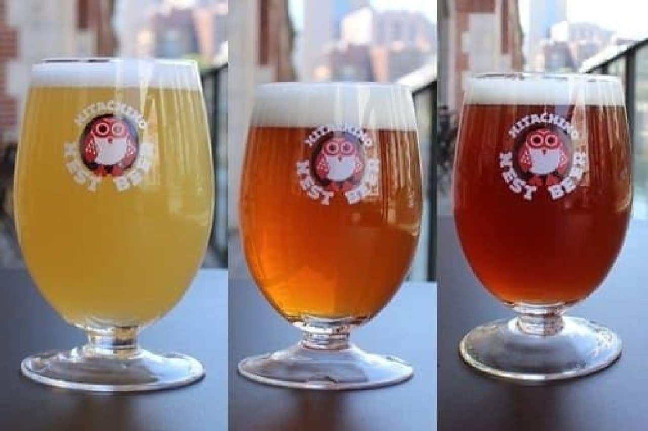 マーチエキュート神田万世橋「ビアアーチ」、常陸野ブルワリー・ラボの限定ビール