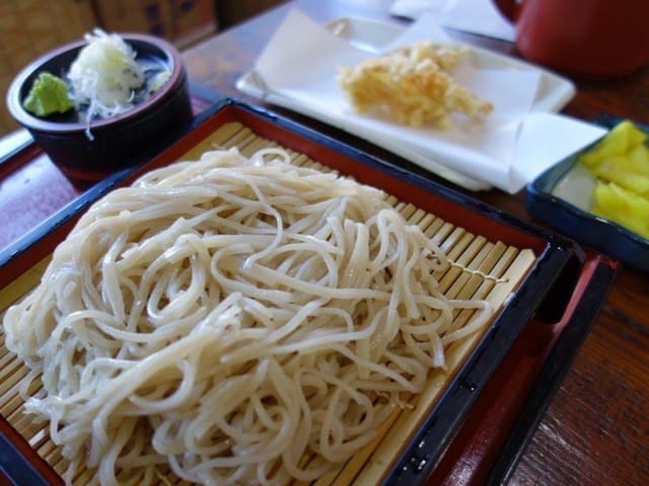 大江戸和宴で提供される福島韃靼そばのイメージ写真