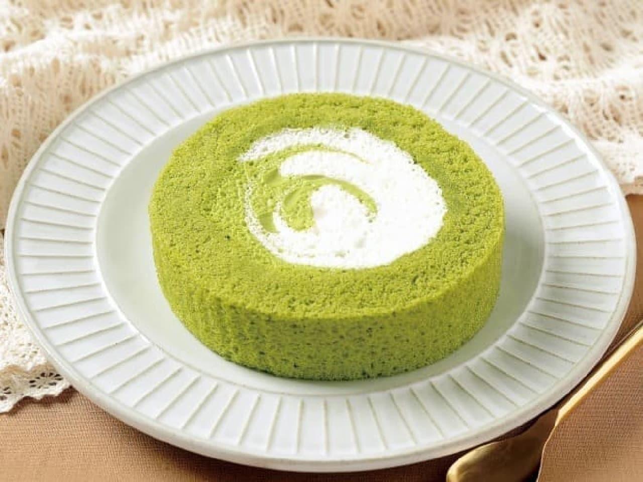 「プレミアム伊勢茶のロールケーキ」