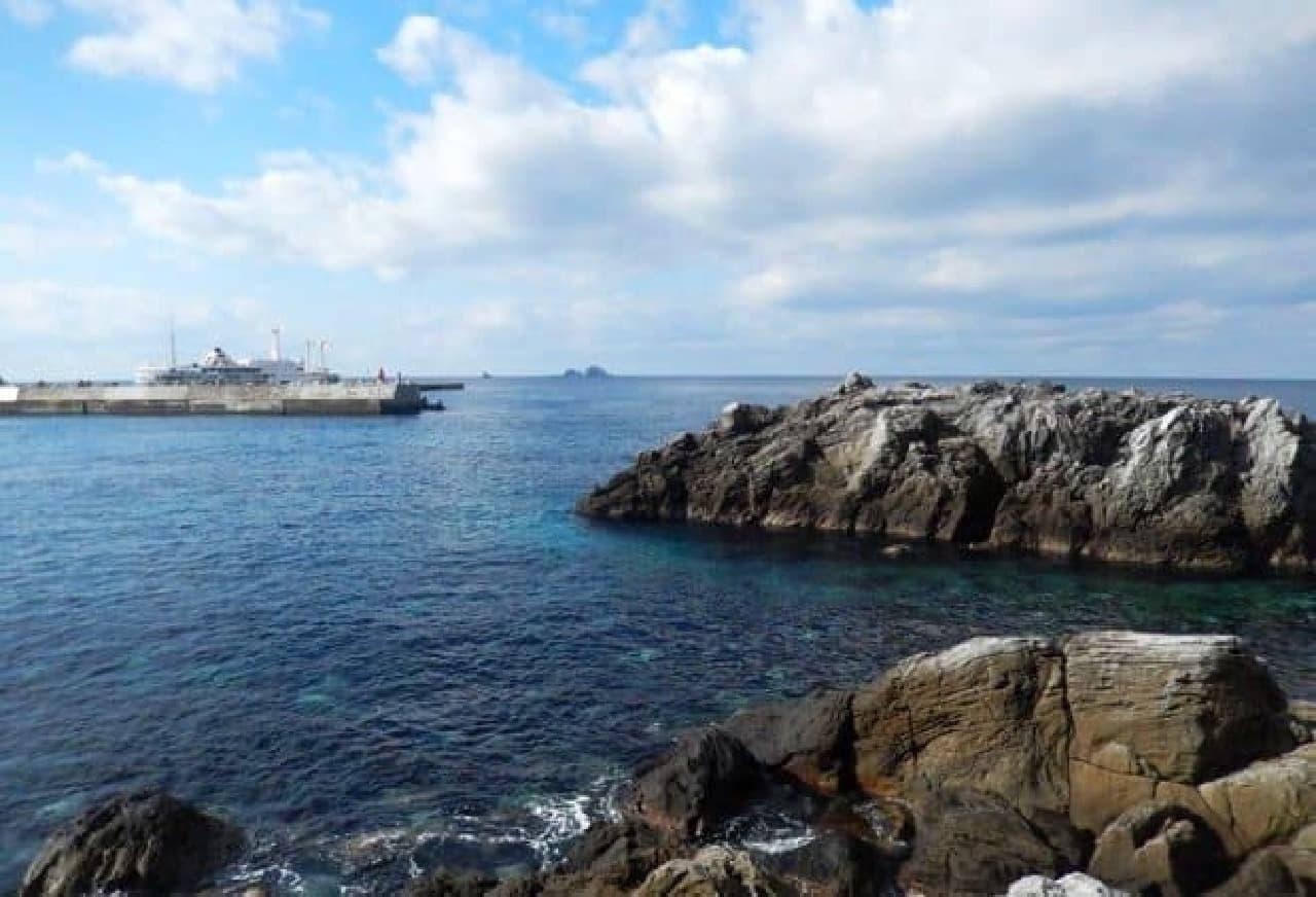 神津島の海