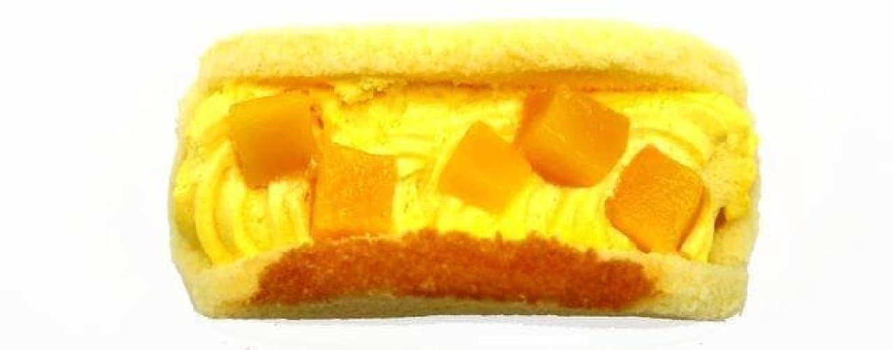「マンゴー好きの為のオムレット」