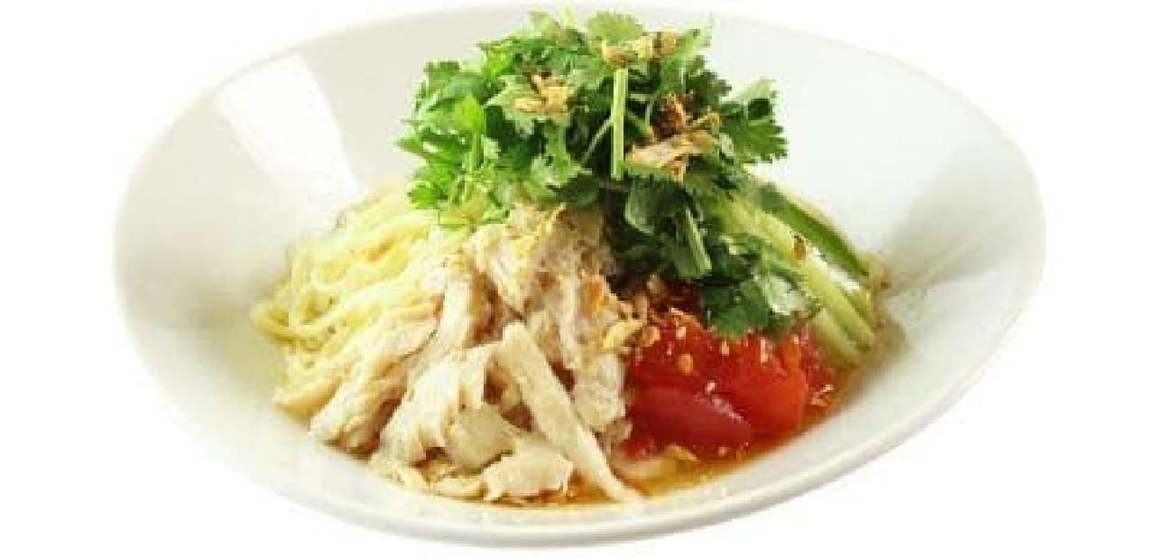 春水堂の塩鶏香菜涼麺