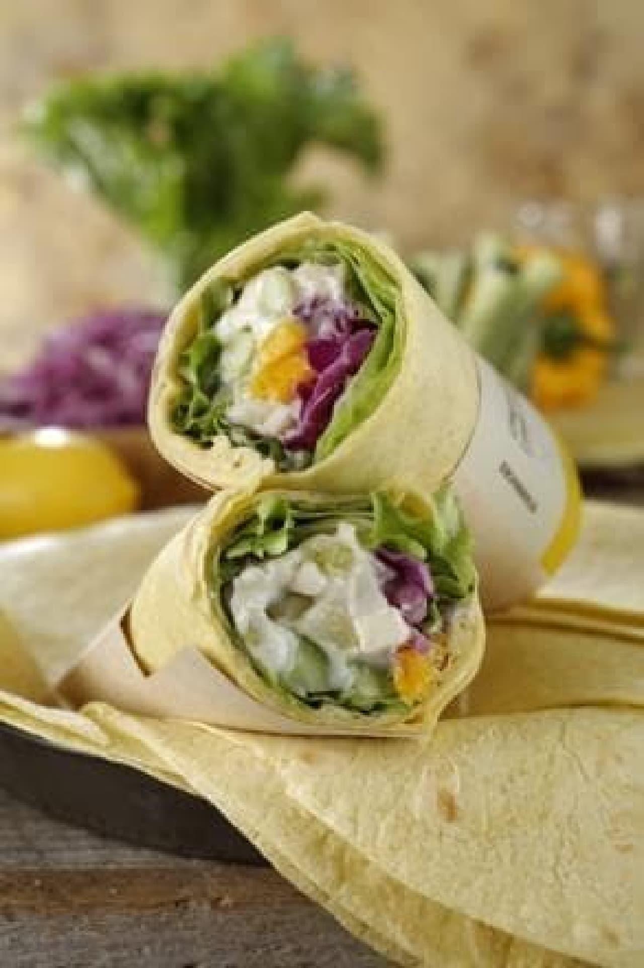 サラダラップ 12品目野菜 レモンクリーム