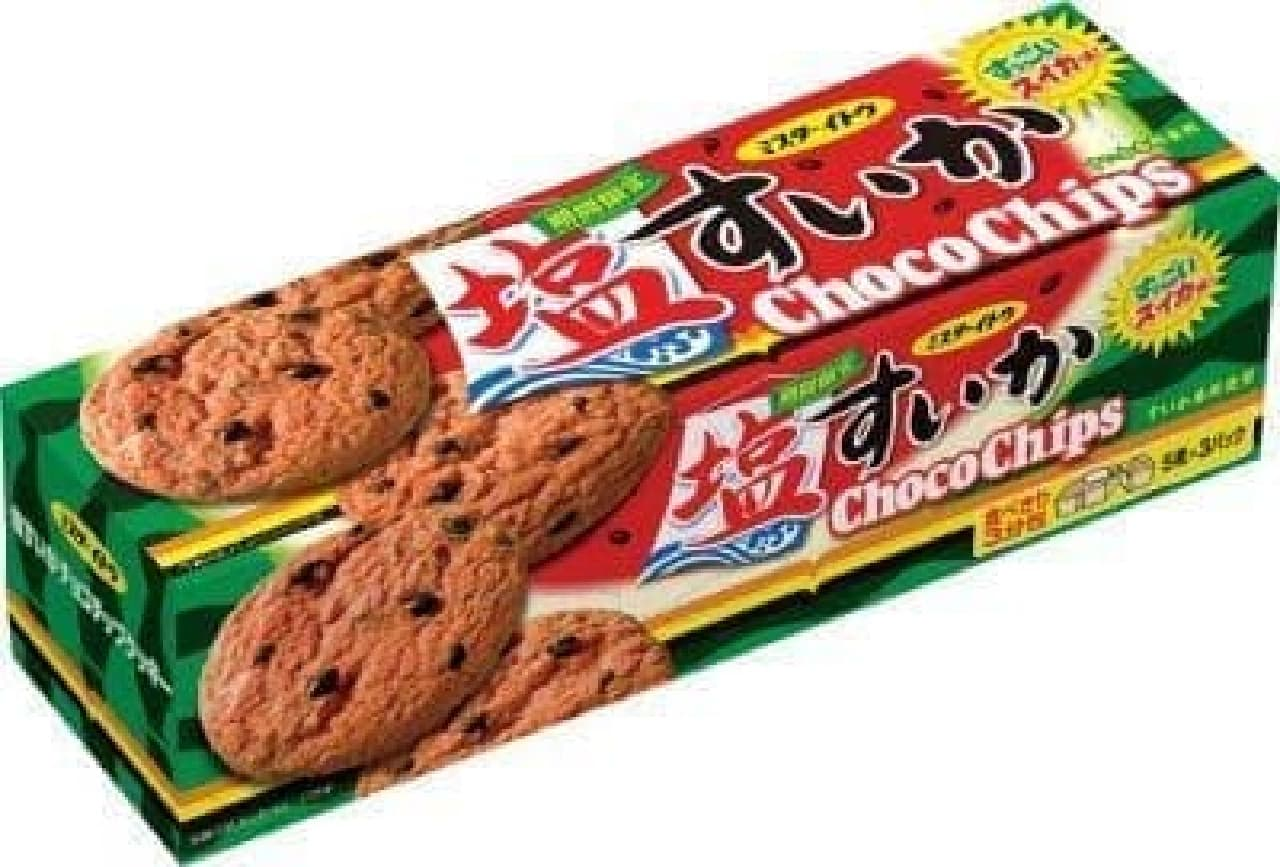 「塩すいかチョコチップクッキー」