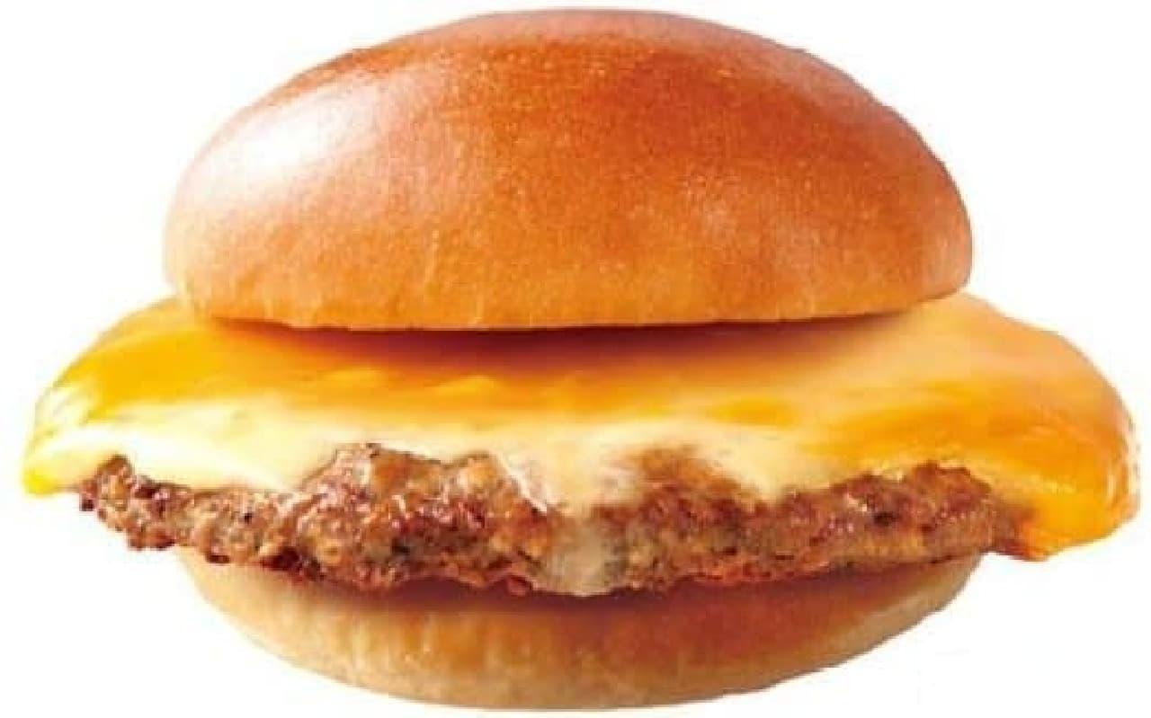 ロッテリア「肉がっつり絶品チーズバーガー」