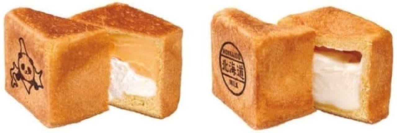 うえのの森のパンやさん「キューブパン」