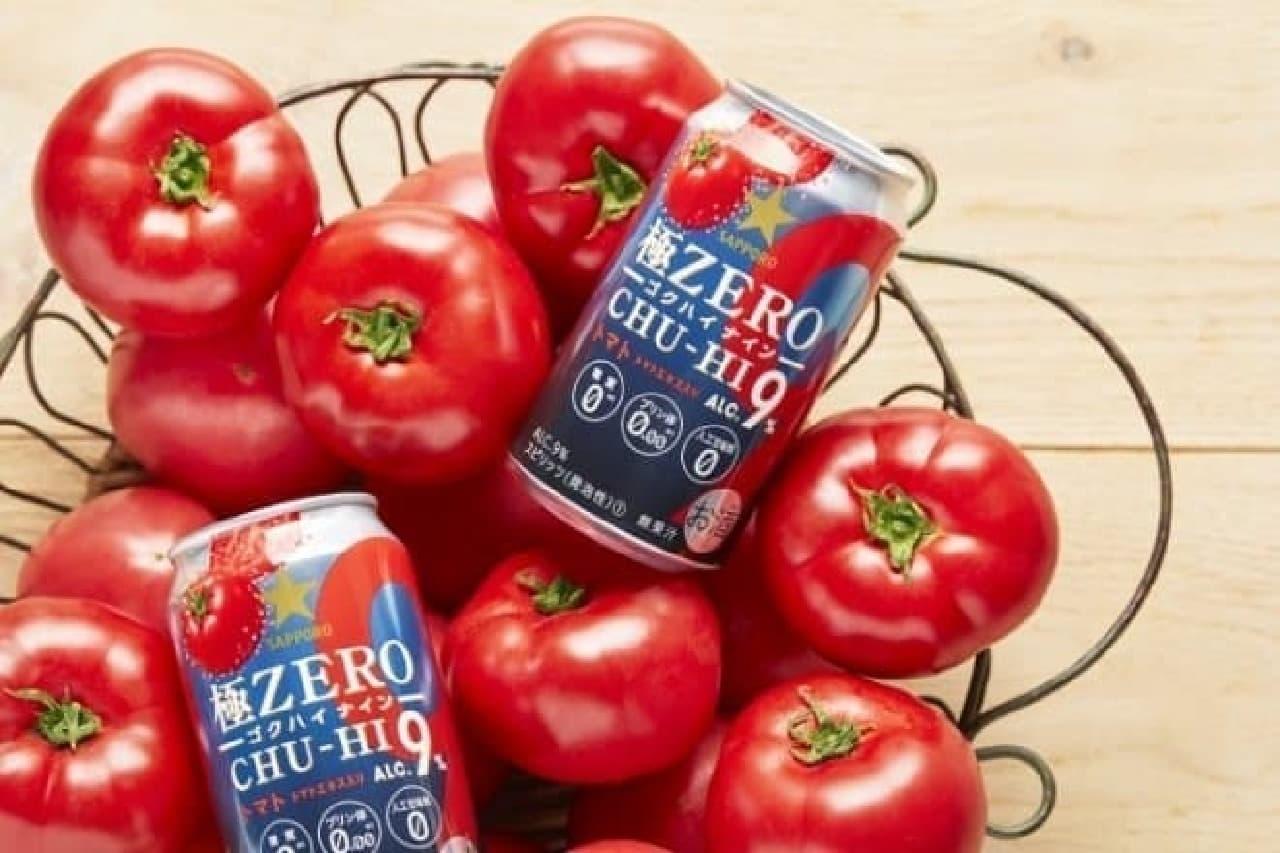サッポロビール「サッポロ 極ZERO CHU-HI ゴクハイ9<トマト>」