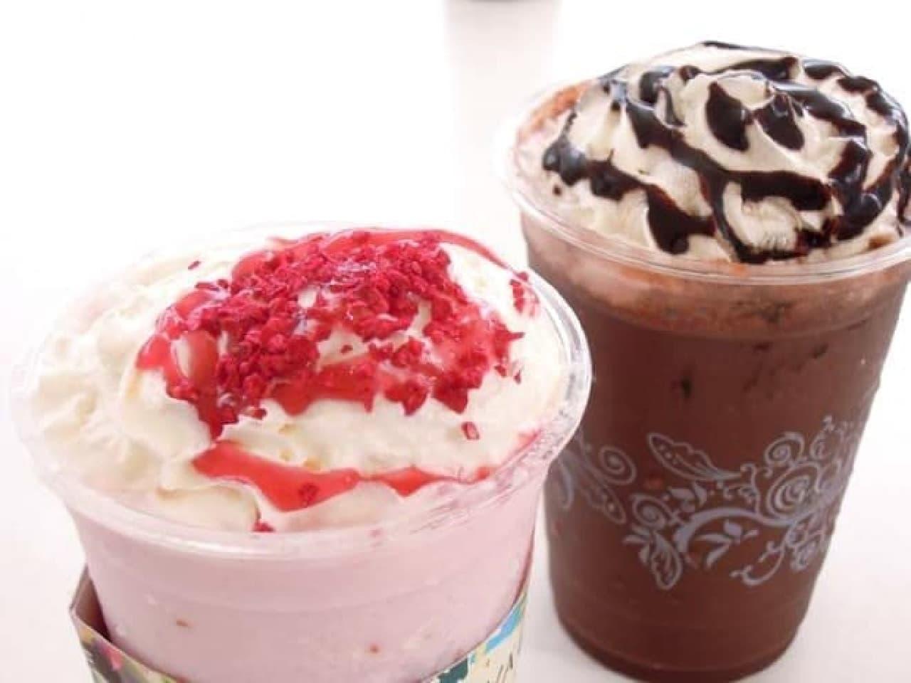 ゴディバ「ショコリキサー ダークチョコレートデカダンス」「同 ホワイトチョコレートラズベリー&ローズ」