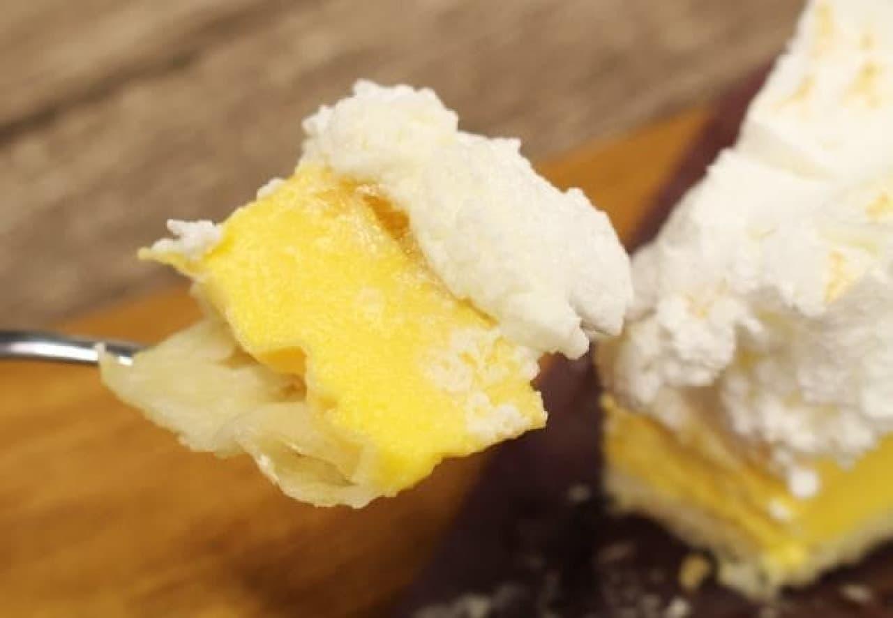 レモンクリームパイ