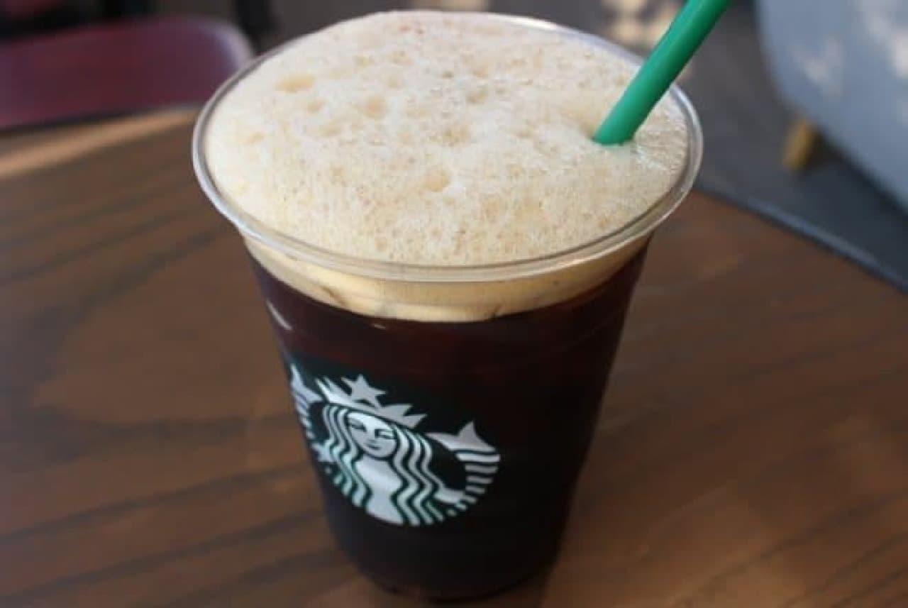 スターバックス「シェイクン アイス バレンシア コーヒー」
