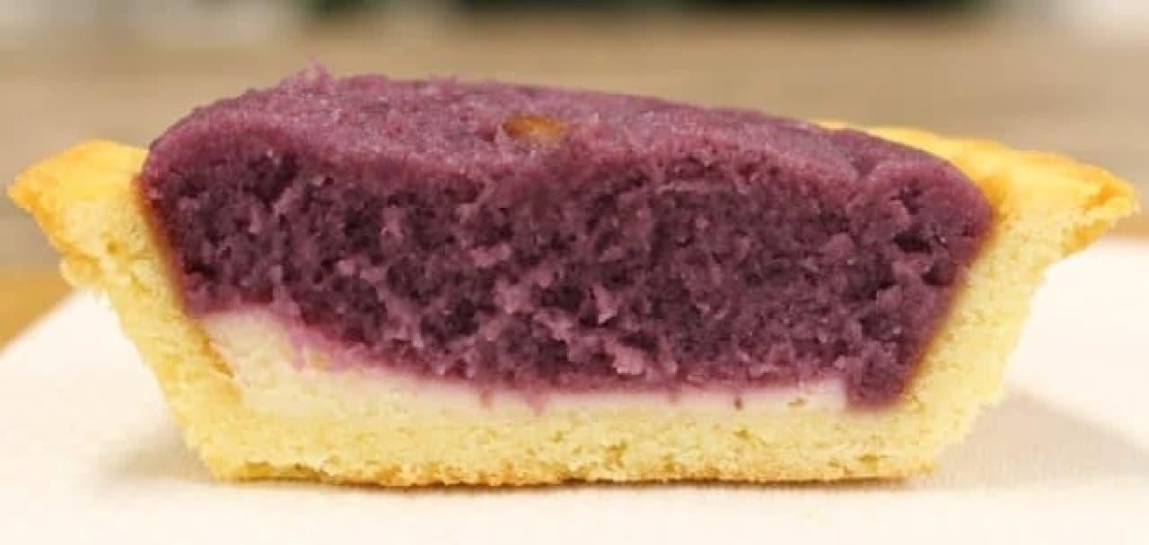 サークルKサンクス「紅芋の濃厚チーズタルト」