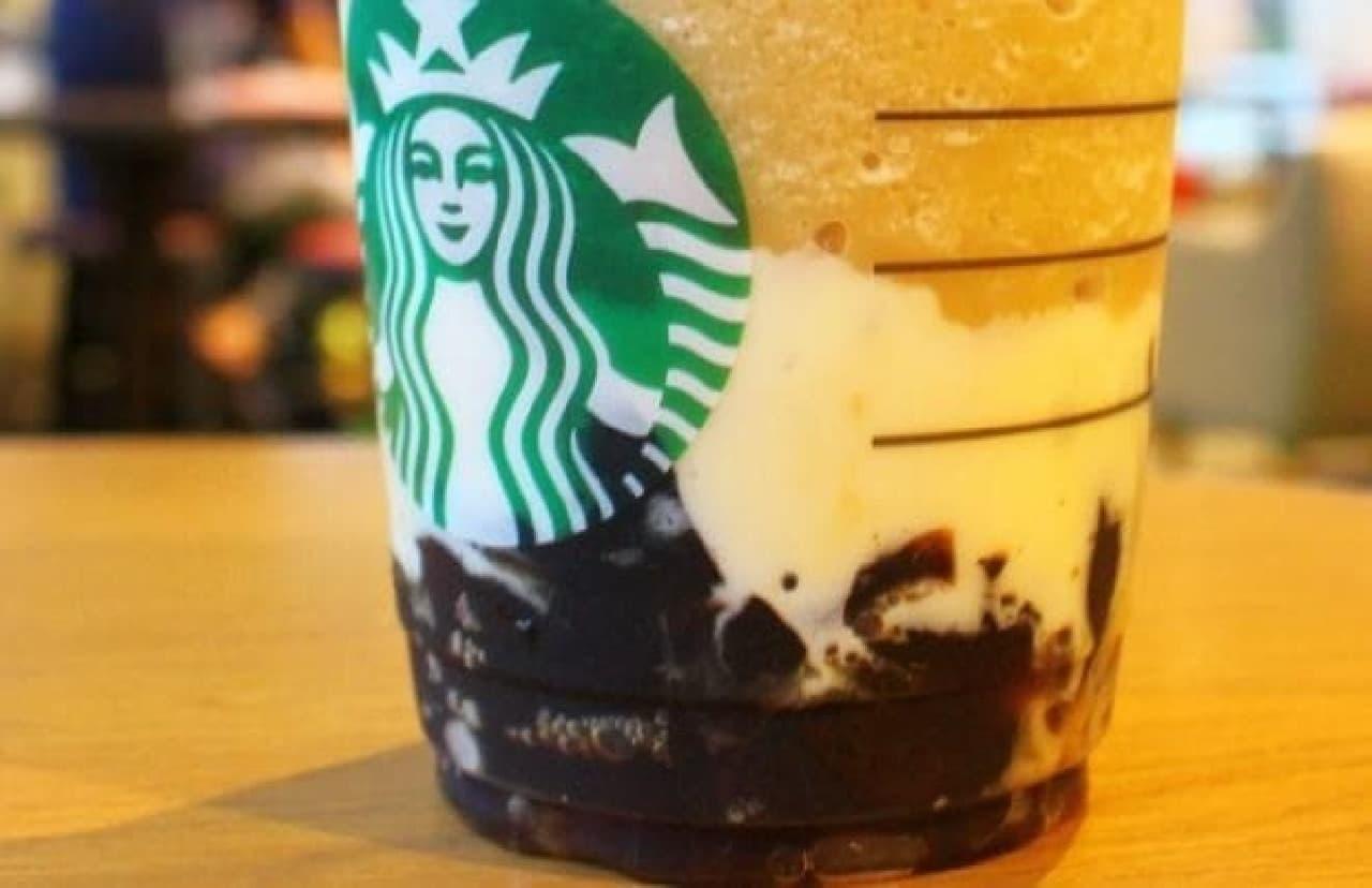 スターバックス「コーヒー ジェリー&クリーミー バニラ フラペチーノ」