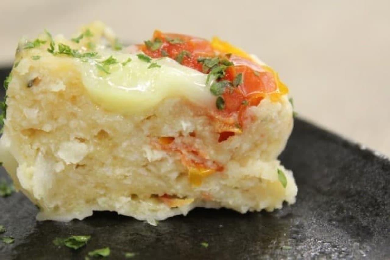 成城石井「トマトとモッツァレラチーズの鶏焼売(しゅうまい)」