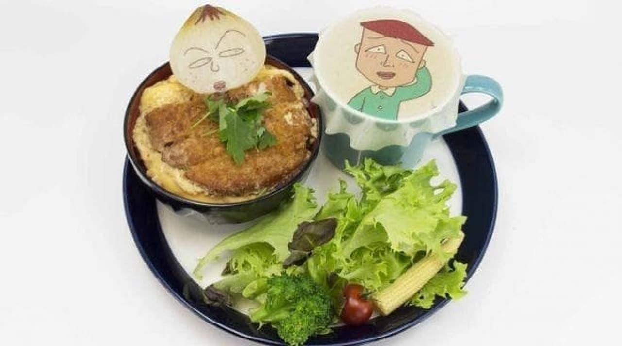 永沢&藤木のカツ丼プレート