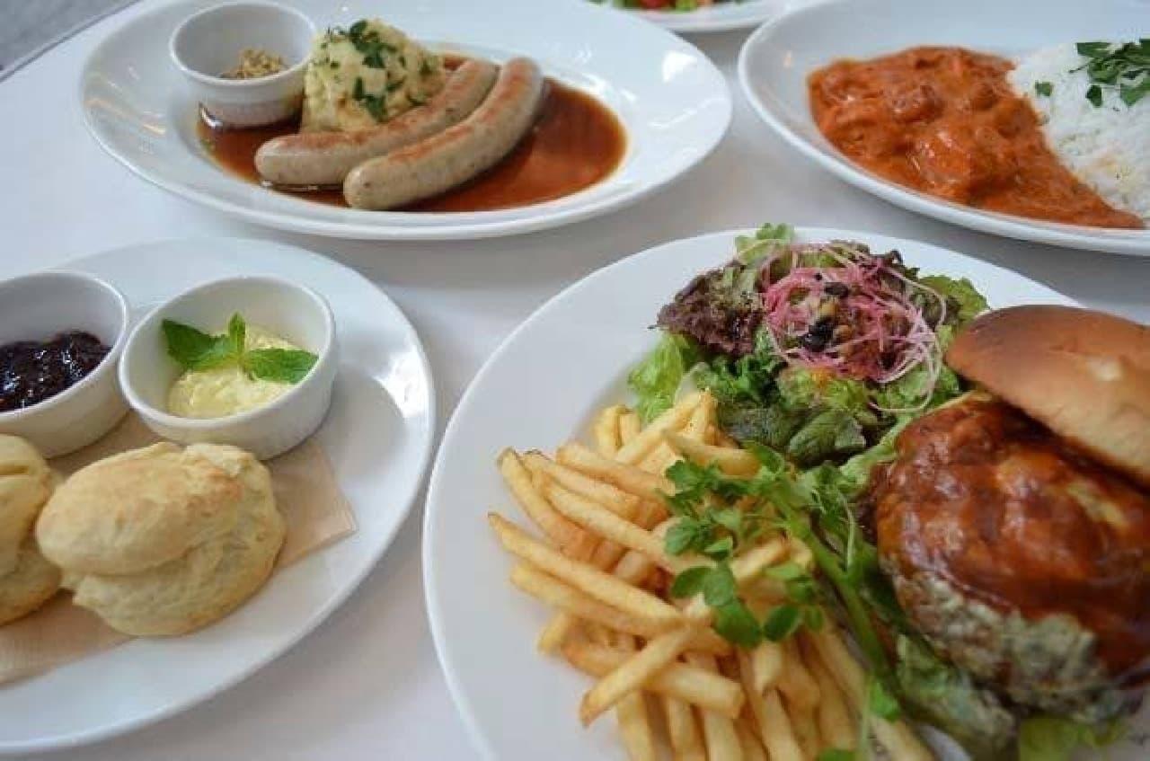 GREAT British Food Market in Marunouchiの、Marunouchi Cafe×WIRED CAFEで提供される、駐日英国大使館保有レシピを再現したメニュー