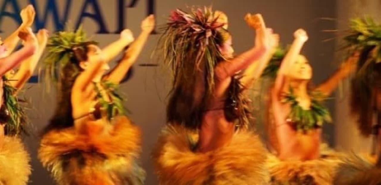 ハワイアン・コナビール・フェスト、ダンスショーイメージ