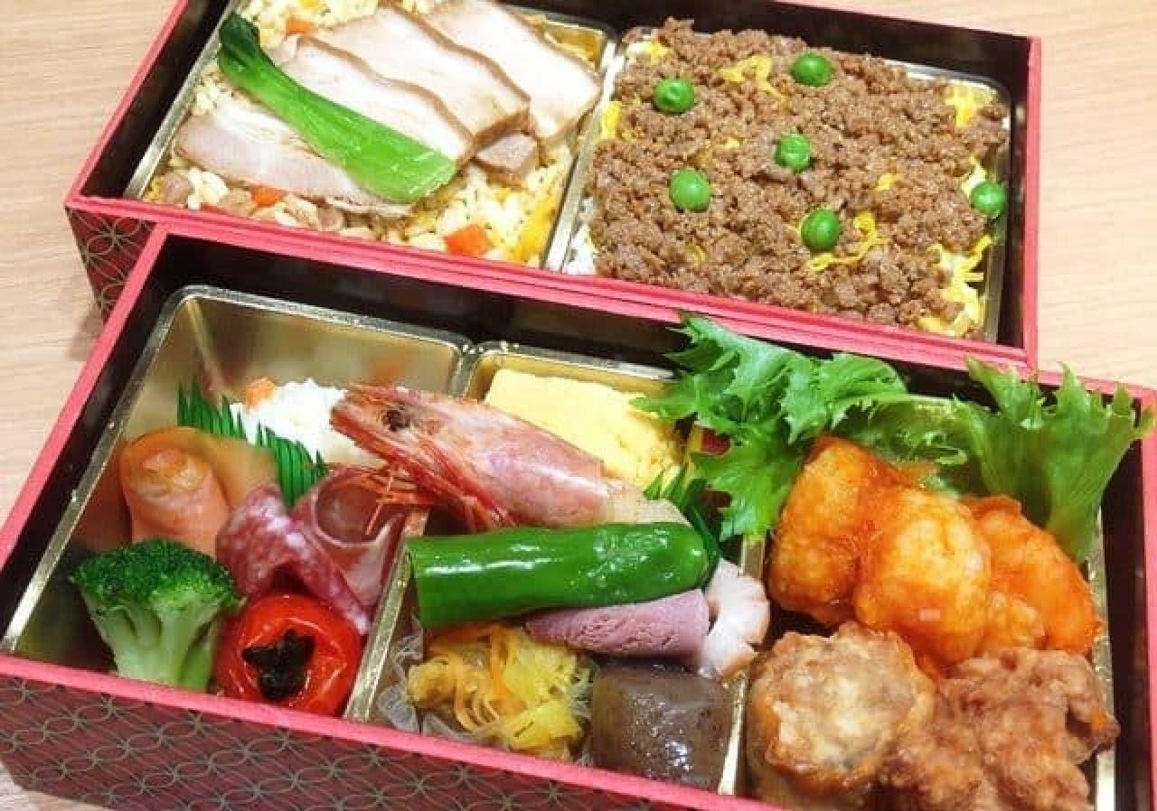 ホテル日航熊本「父の日スタミナ弁当」