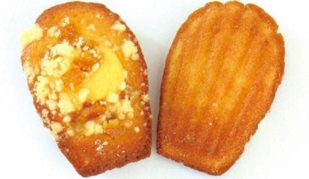 マドレーヌラパン「オレンジクランブル」