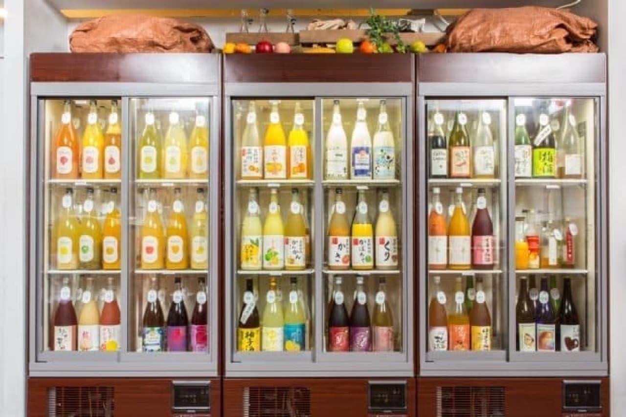 シュガーマーケットの冷蔵庫