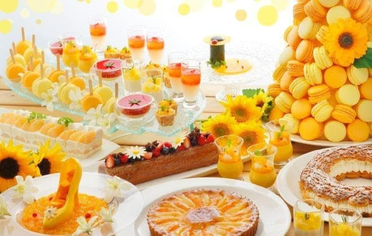Super Summer Sweets Buffetのスイーツ