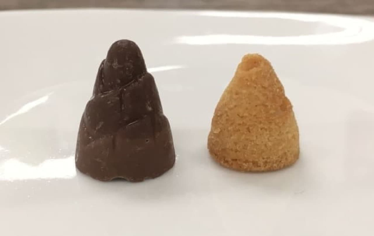 「チョコだけのこの里」と「クッキーだけのこの里」