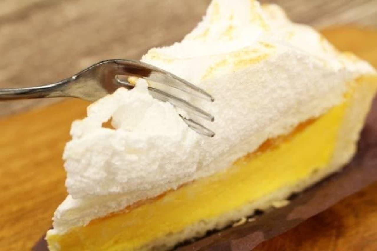 スターバックス「レモンクリームパイ」