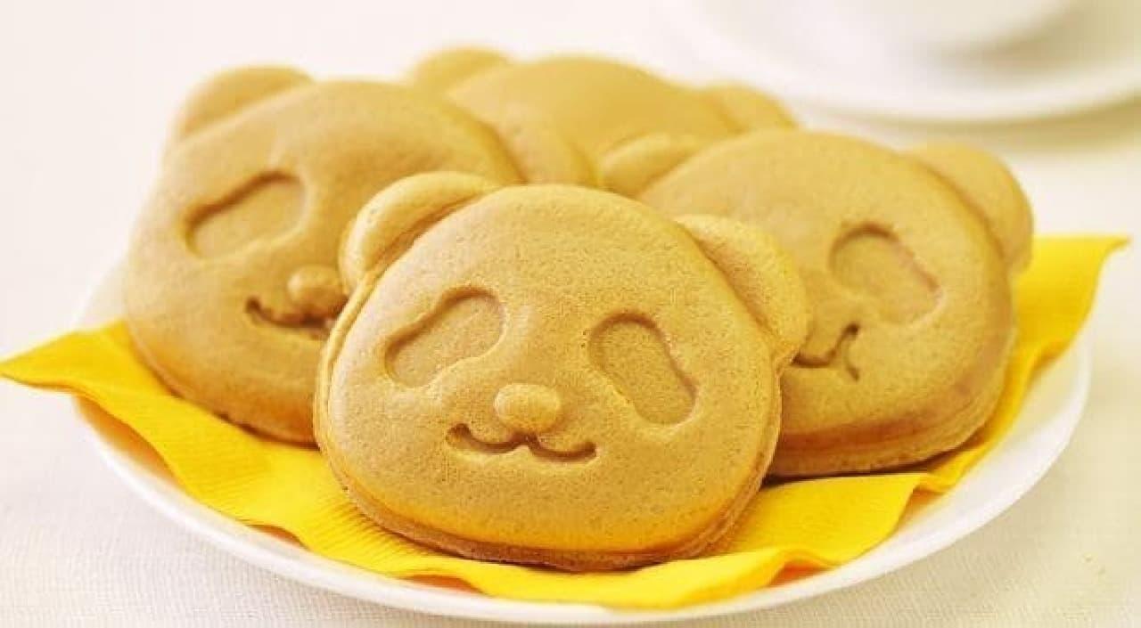 銀座コージーコーナー上野公園ルエノ店「パンダ焼きほろにが抹茶」
