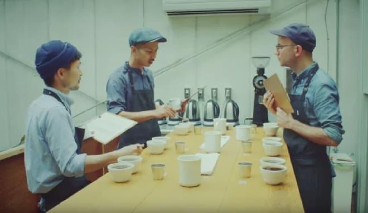 プリウス試乗味コーヒー by BLUE BOTTLE COFFEE