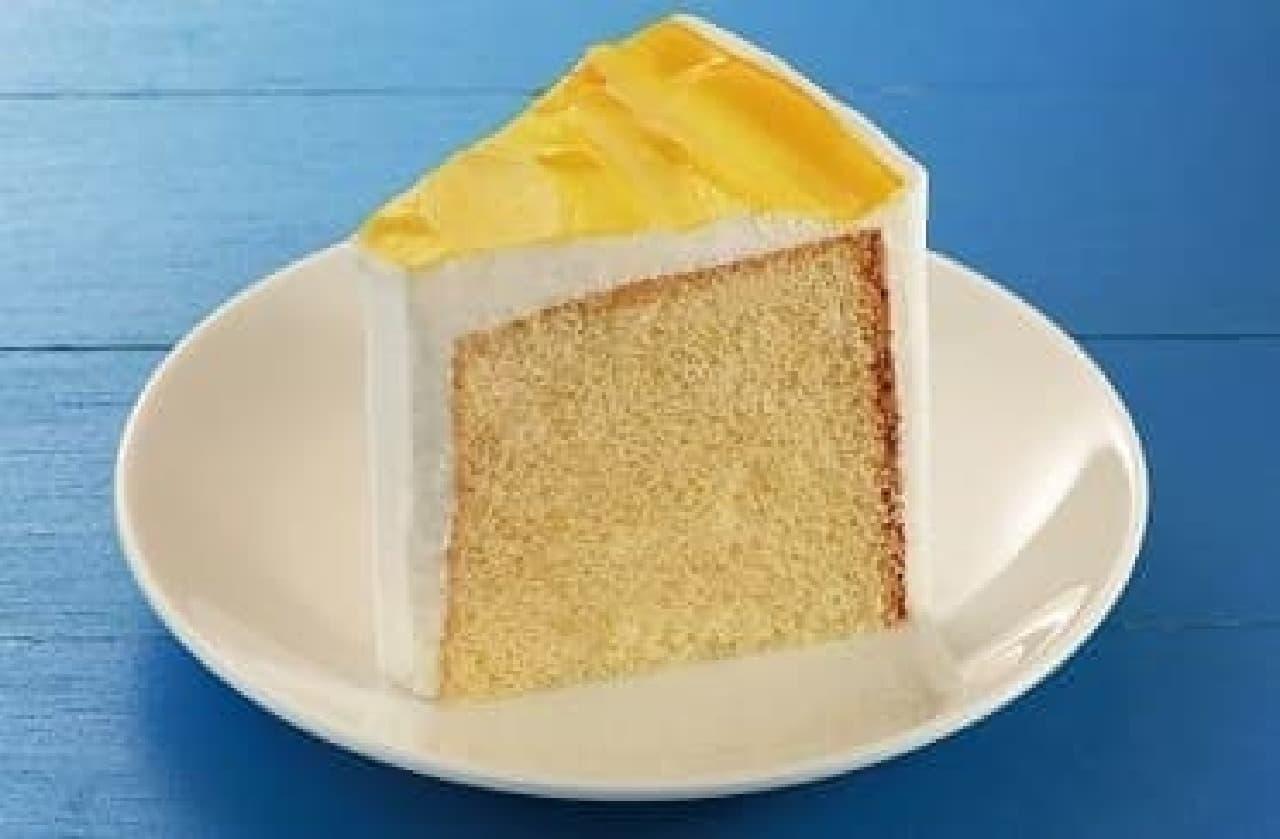 カフェ・ド・クリエ「レモンのシフォンケーキ」