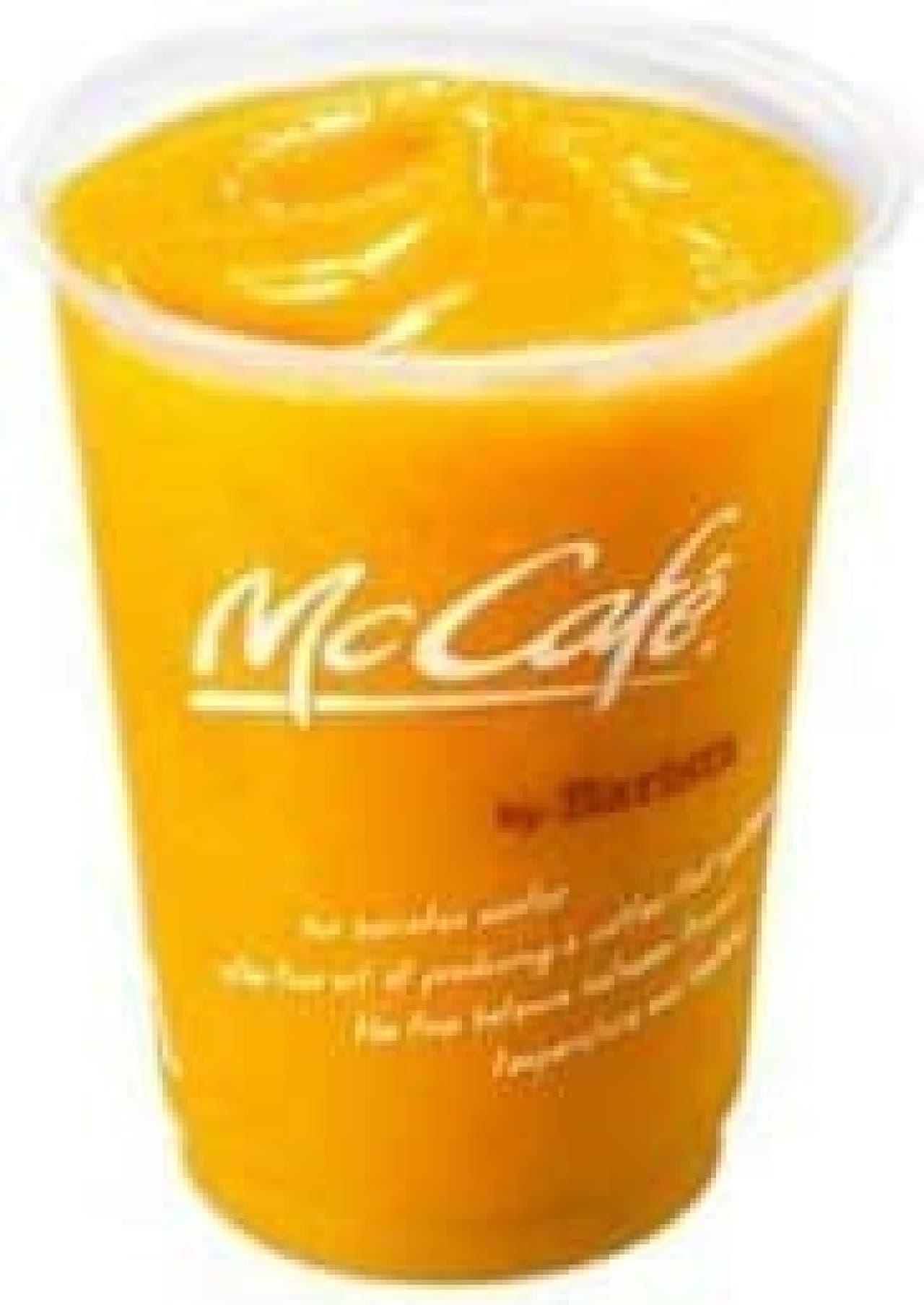 マックカフェ マンゴースムージー
