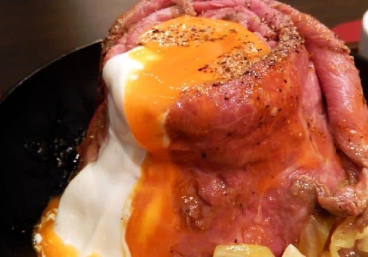 ローストビーフ大野「和牛ローストビーフ丼定食」