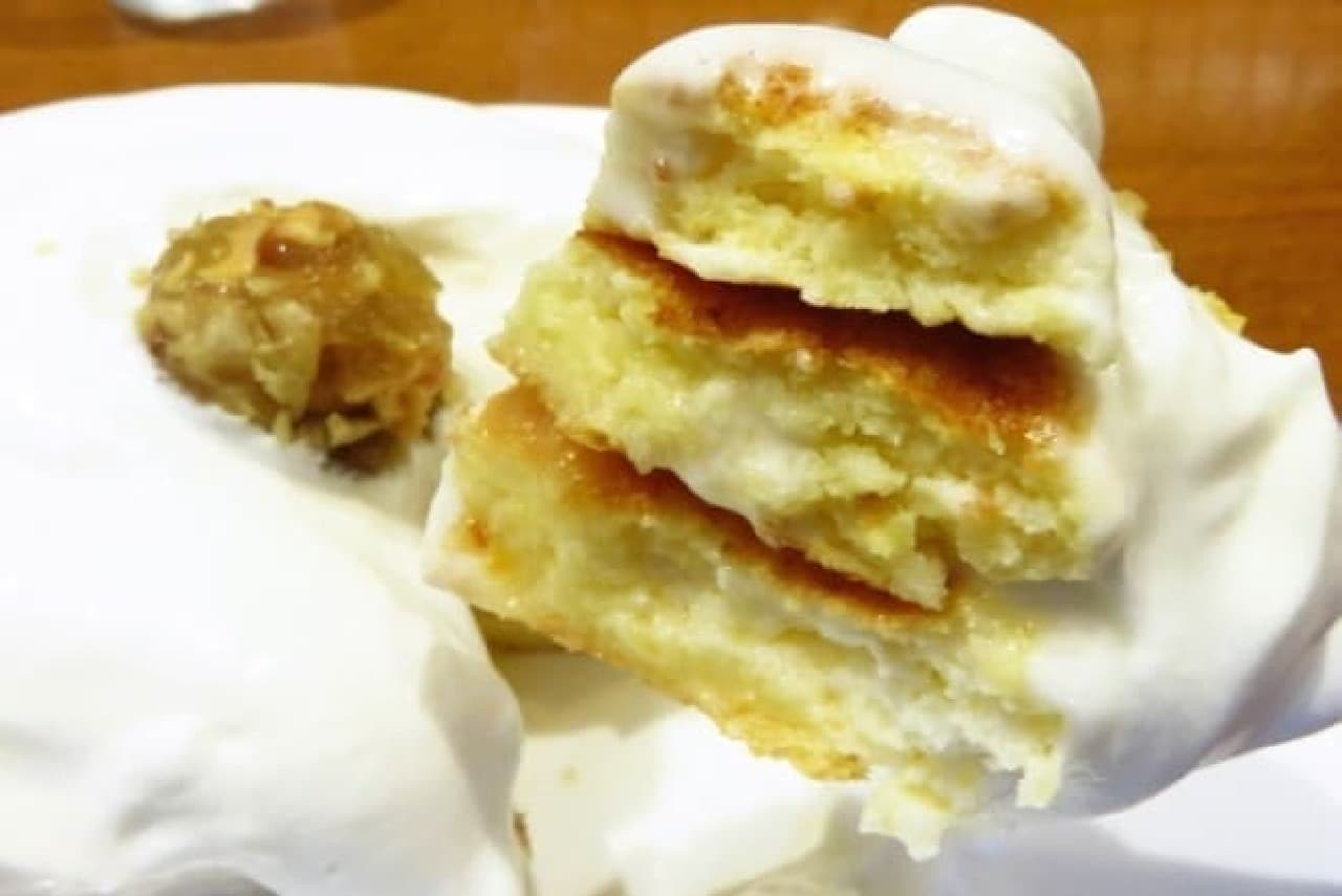 銀座のジンジャー「ジンジャーパンケーキ」