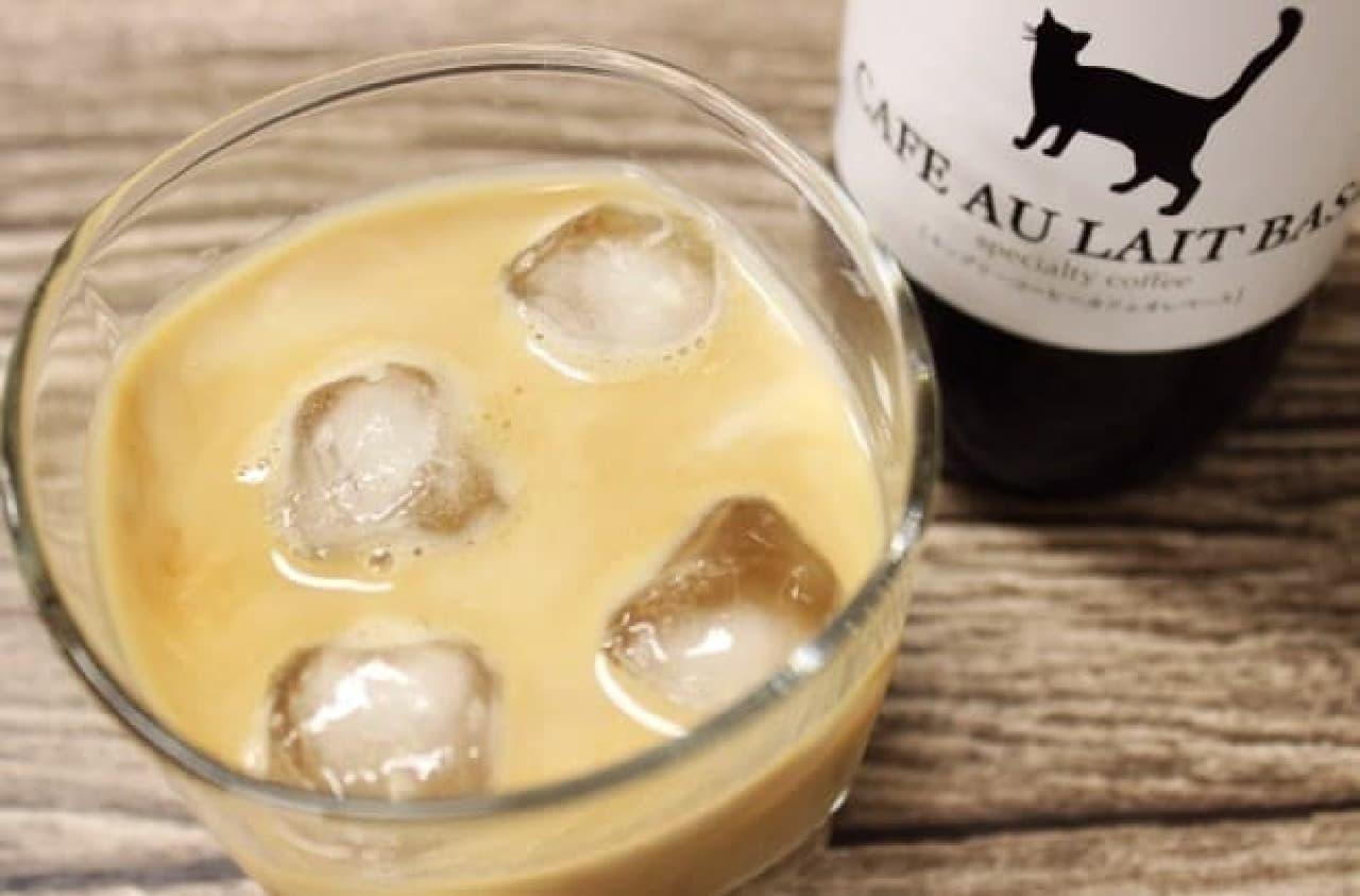 KINGLY COFFEE「ネコ印カフェオレベース(加糖)」