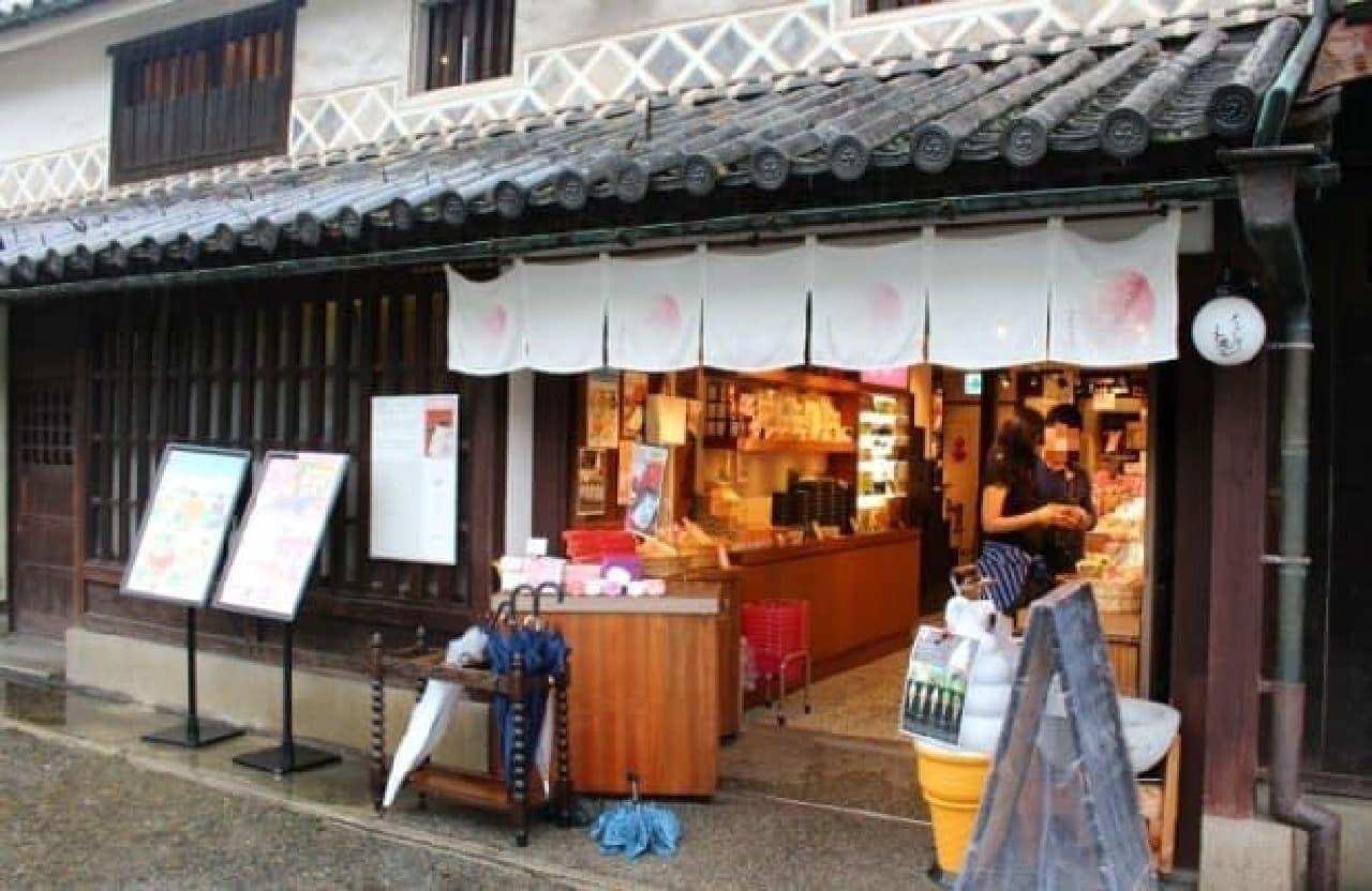 岡山県倉敷市美観地区の「くらしき桃子」