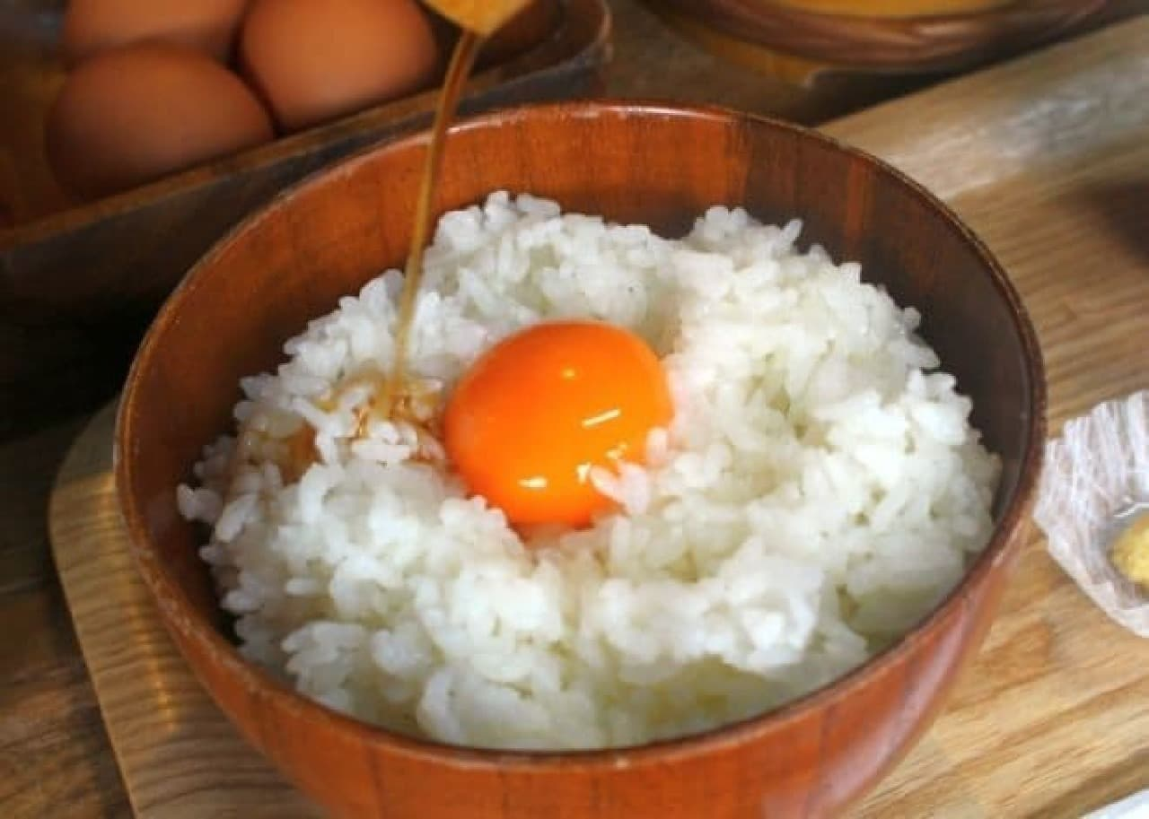 くるま座 有隣庵「卵かけご飯」