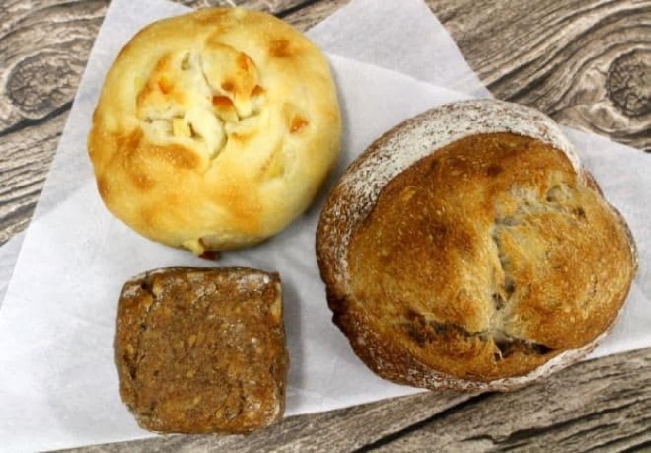 ブーランジェリー mugiのパン