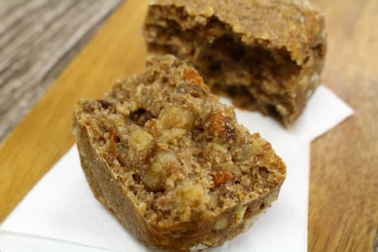 ブーランジェリー mugi「ライ麦と全粒粉のたっぷりナッツパン」