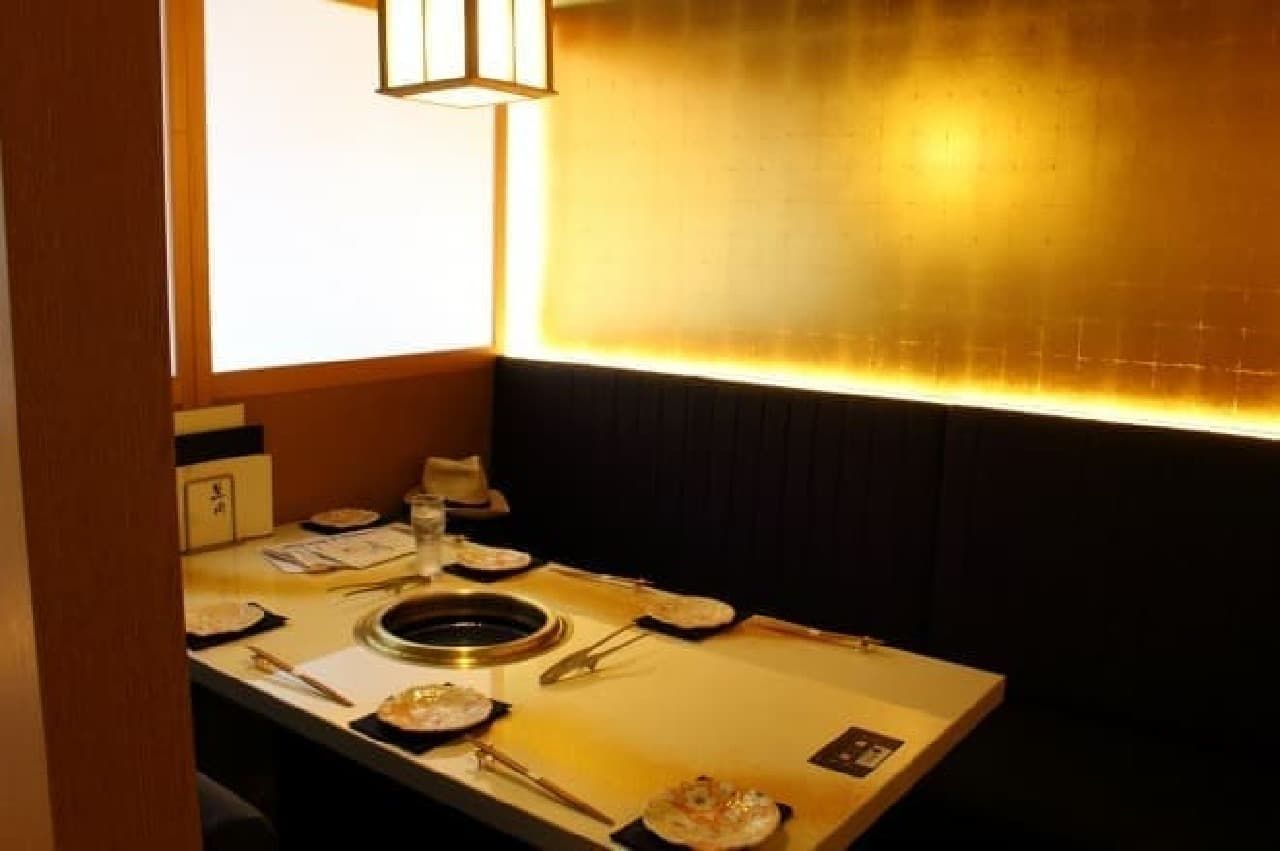 GEMS神田「肉の匠 将泰庵」の個室