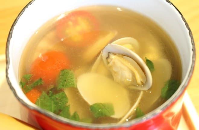 マルモキッチン「スープご飯 金目鯛ごはん+あさりトマトスープ」