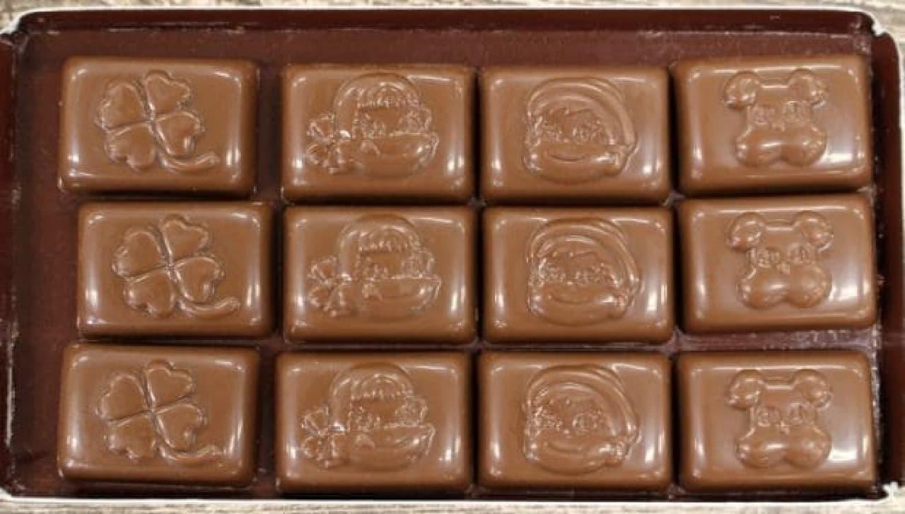不二家「魔法のミルキーチョコレート(パフェ)」