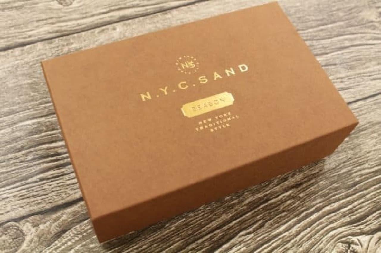 N.Y.C.SAND「N.Y.サニーオレンジキャラメルサンド」
