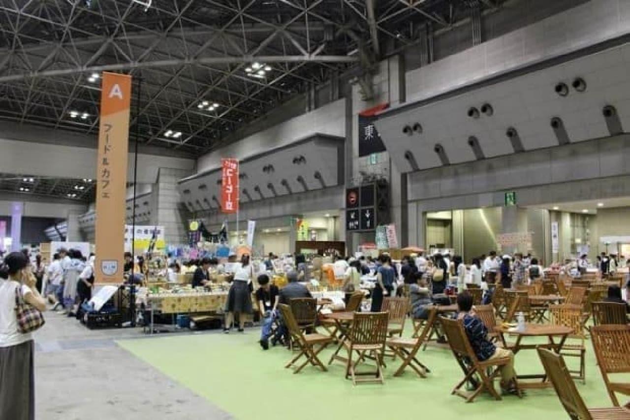 ハンドメイドインジャパンフェス2016 フード&カフェエリア