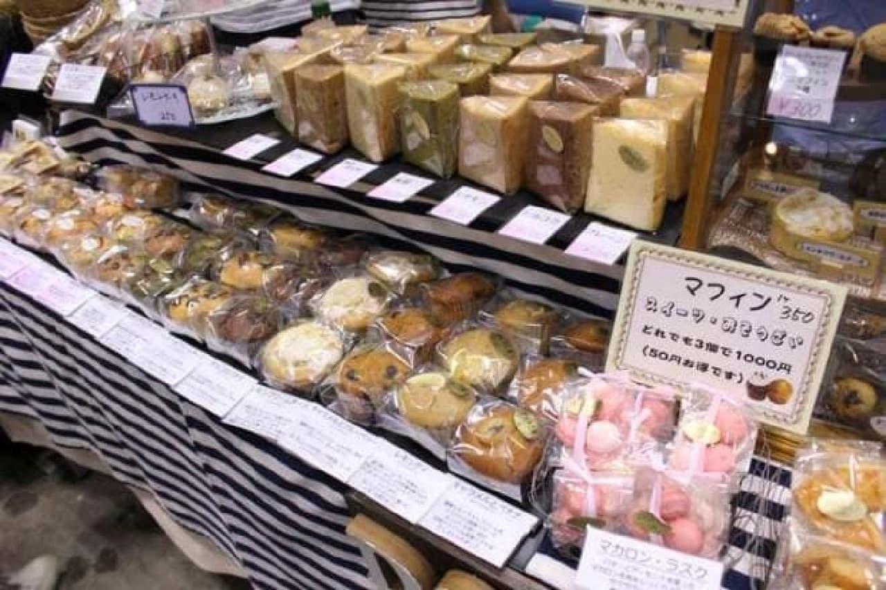 ハンドメイドインジャパンフェス2016 焼き菓子のブース