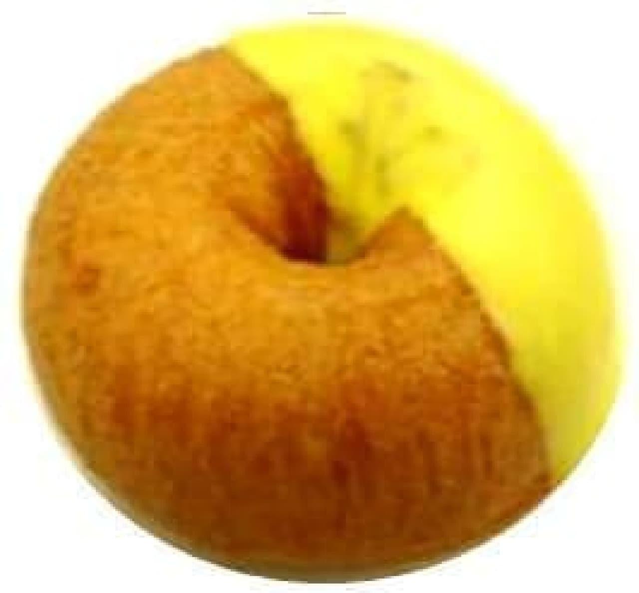 セブンイレブン ポムドーナツ(チョコ&バナナホイップ)