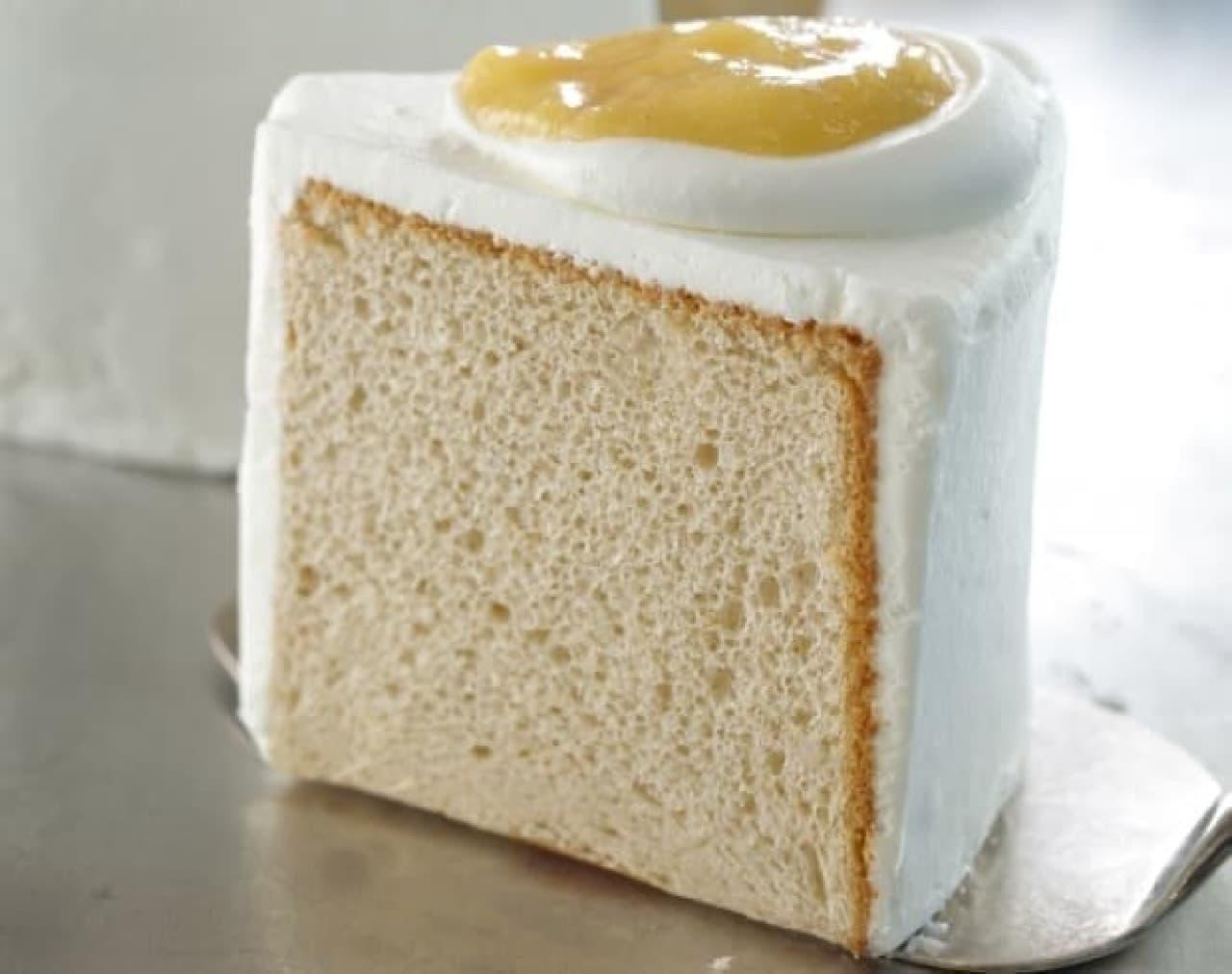 スターバックス「バナナシフォンケーキ」