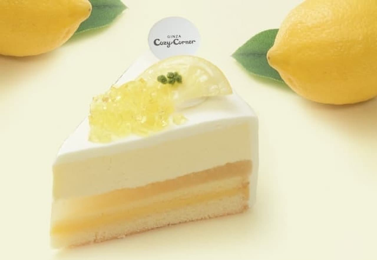 コージーコーナー「塩レモンのレアチーズ(瀬戸内レモン使用)」
