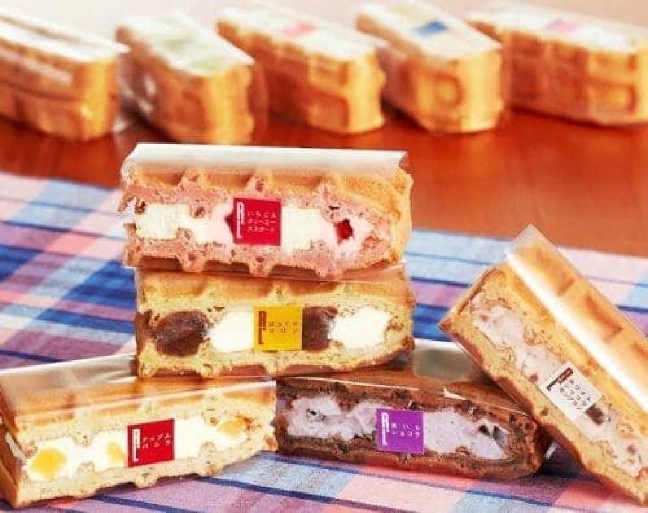 エール・エル「9月限定ワッフルケーキ」