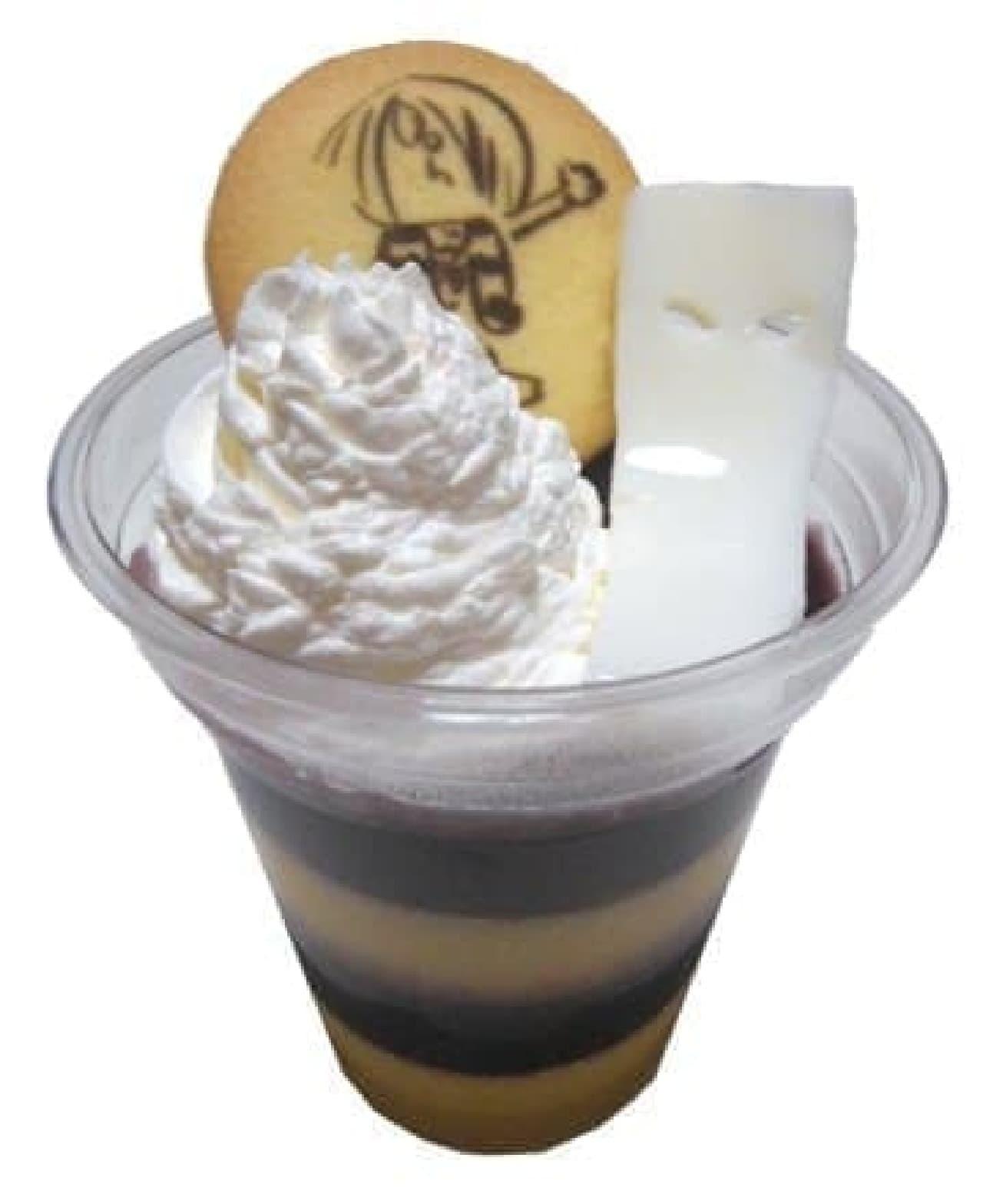 GeGeGeの氷怪堂「鬼太郎パフェ」