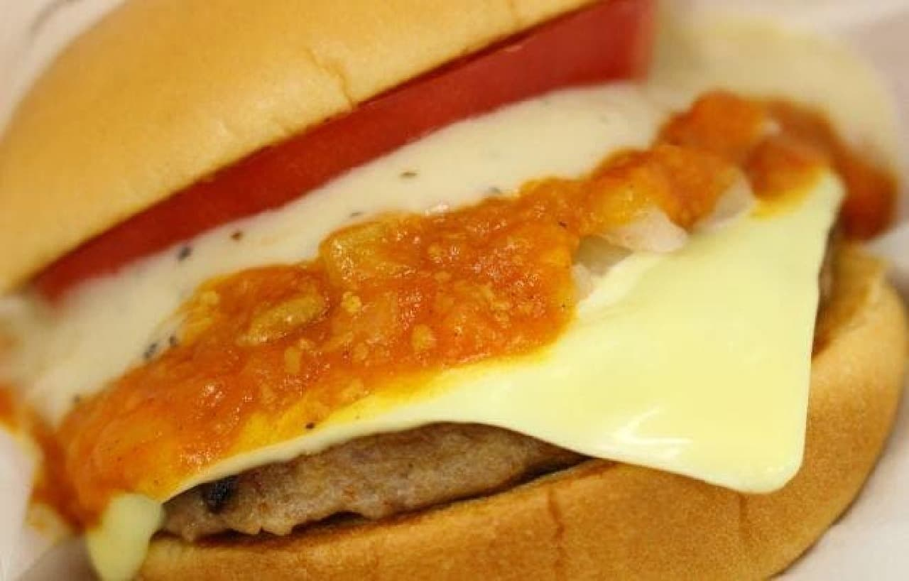 モスバーガー「リッチモスチーズバーガー ゴルゴンゾーラチーズソース」